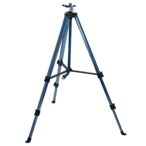 Classic Metal Pulsating Sprinkler on Telescoping Tripod