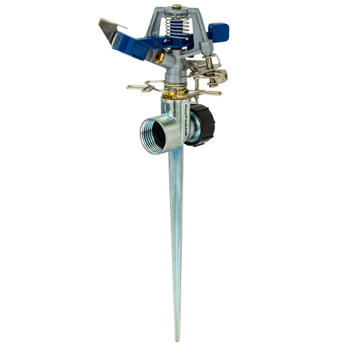 Classic Metal Pulsating Sprinkler on In-Series Metal Spike
