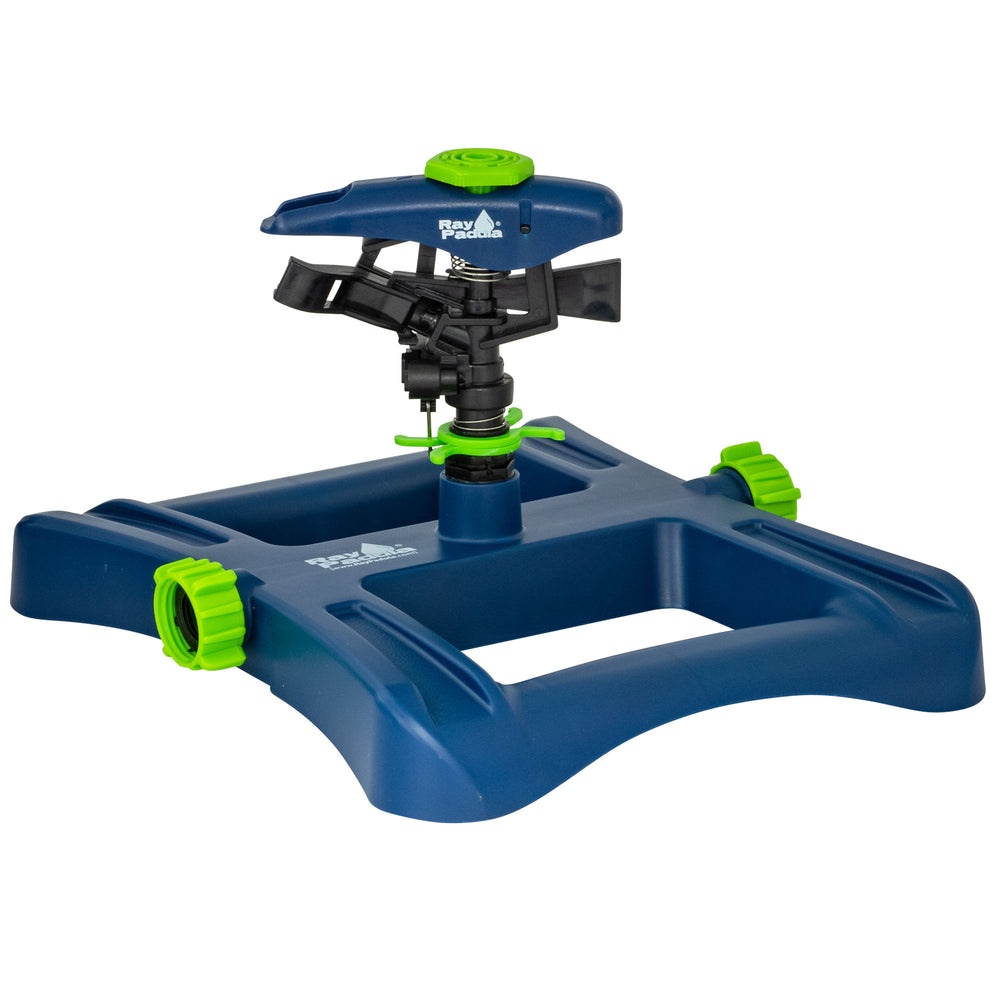 Deluxe Plastic Pulsating Sprinkler on In-Series Square Sled Base