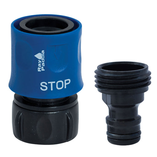 Plastic Quick Connect Starter Kit with STOP
