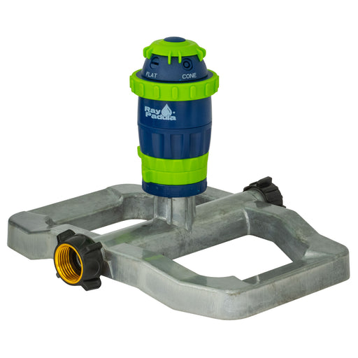 Silent Pulse 5-Pattern Gear Drive Sprinkler on Metal Sled Base