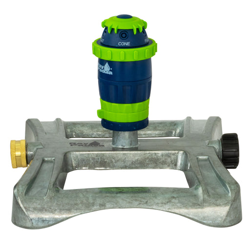 Silent Pulse 5-Pattern Gear Drive Sprinkler on In-Series Metal Sled Base