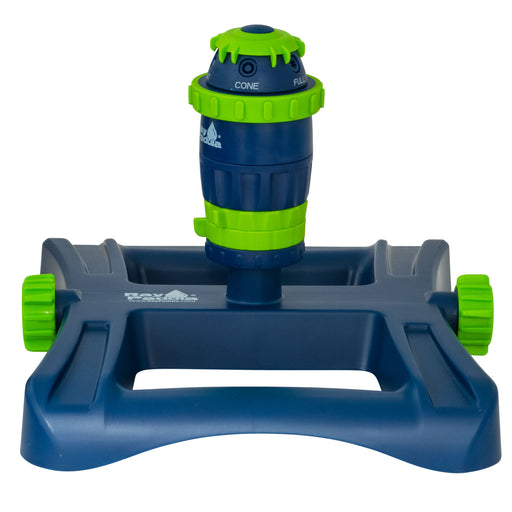 Silent Pulse 5-Pattern Gear Drive Sprinkler on In-Series Square Sled Base