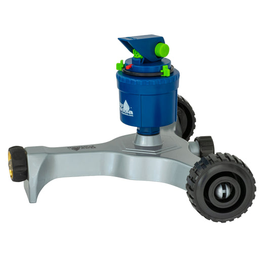 Silent Pulse Gear Drive Sprinkler on In-Series Deluxe Metal Wheel Base