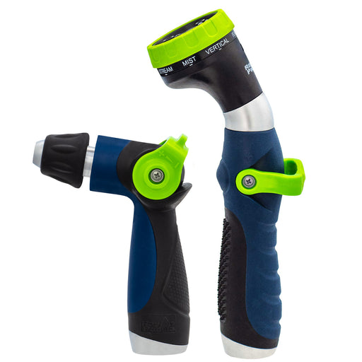 Thumb Control Deluxe Ergonomic 8-Pattern and Adjustable Nozzle (2-Pack)