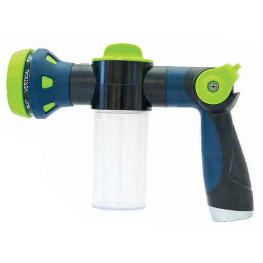 Thumb Control 8-Pattern Dispensing Hose Nozzle