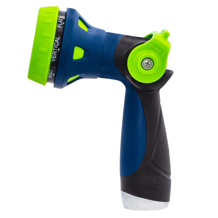 Thumb Control 8-Pattern Deluxe Hose Nozzle