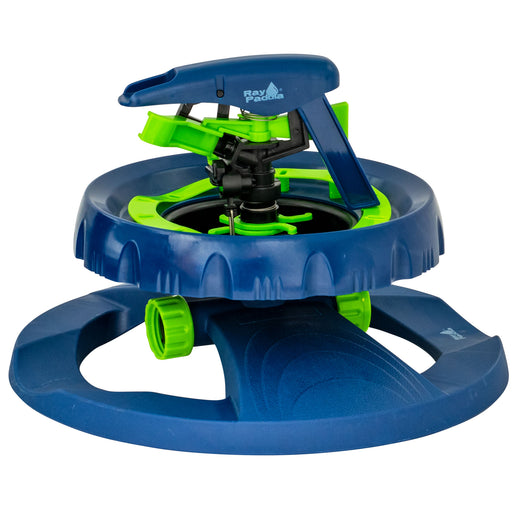 Smart Spray Contour Pulsating Sprinkler on In-Series Circle Sled Base