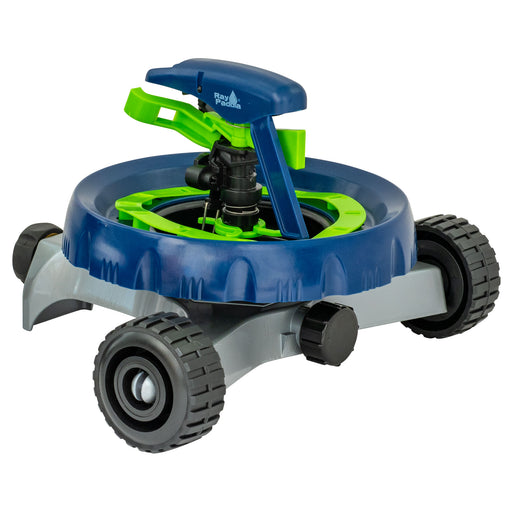 Smart Spray Contour Pulsating Sprinkler on In-Series Metal Wheel Base