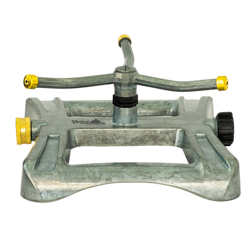 Metal Classic 3-Arm Revolving Sprinkler on Deluxe In-Series Metal Sled Base