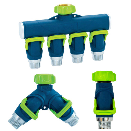 Thumb Control Splitter and Shut Off Hose Accessory Set (3-Pack)