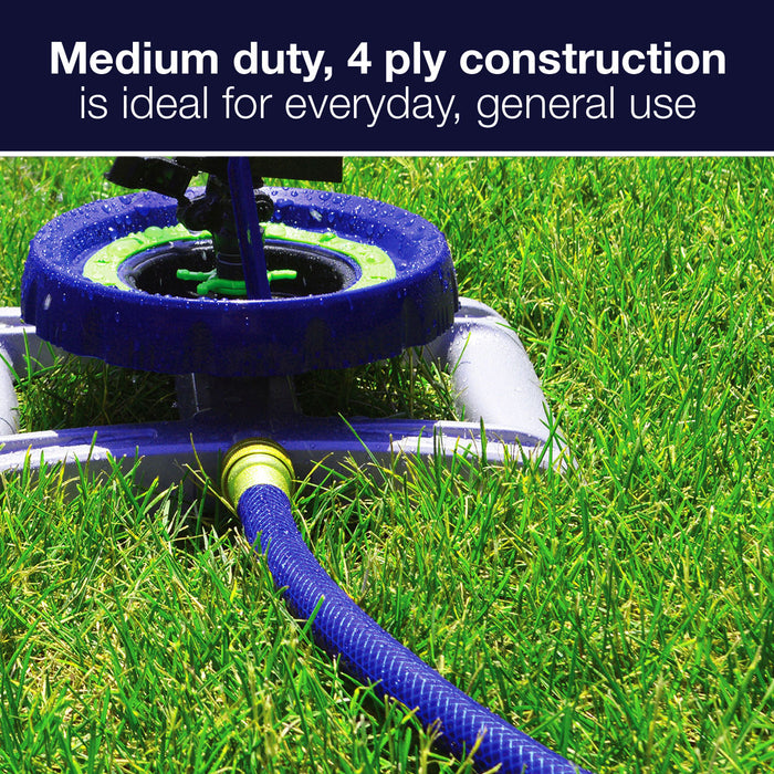 5/8 in. x 75 ft. Medium Duty Garden Hose with Large Swivel Coupling