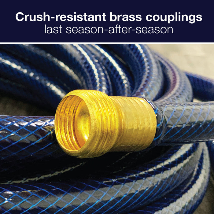 5/8 in. x 100 ft. Medium Duty Garden Hose with Large Swivel Coupling
