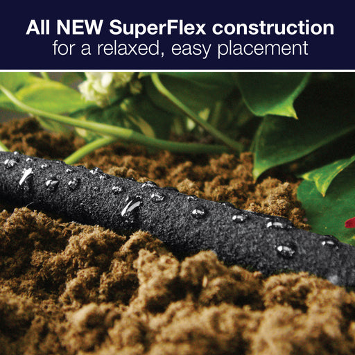 1/2 in. x 50 ft. SuperFlex Flexible Porous Soaker Hose