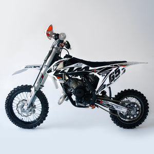 ktm 65 sx graphics eternal side view
