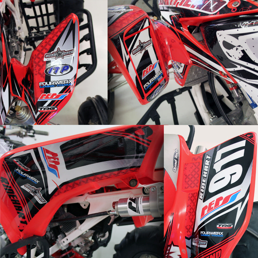 "TRX450R GRAPHICS ""FLOW"""