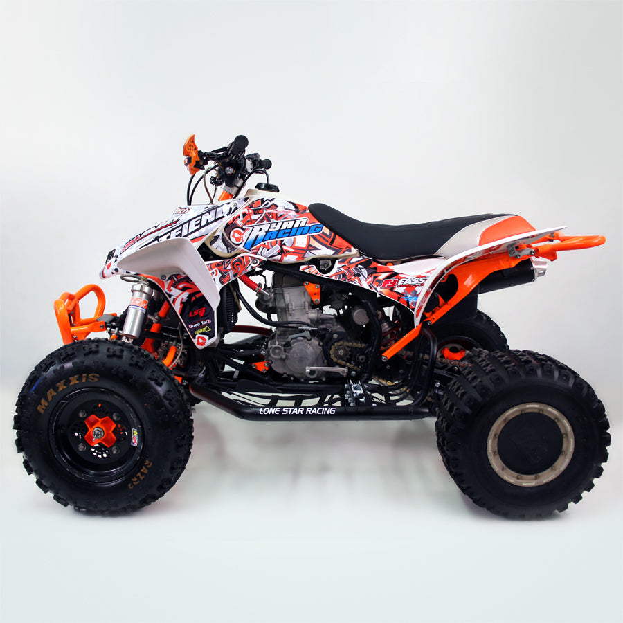 "TRX450R GRAPHICS ""BOMBER"""