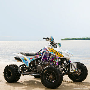 "TRX450R GRAPHICS ""BURNER"""