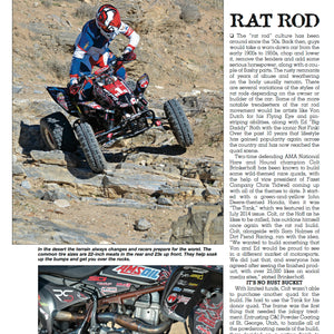 "TRX450R GRAPHICS COLT'S REPLICA ""RAT ROD"""