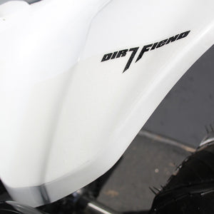 "TRX450R Grip-it Graphics Fender ""Plain"""