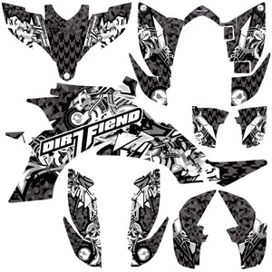 "YFZ450 GRAPHICS ""BOMBER"""