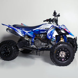 "2014-NEWER YFZ450R GRAPHICS ""ETERNAL"" SIDES AND FENDERS"