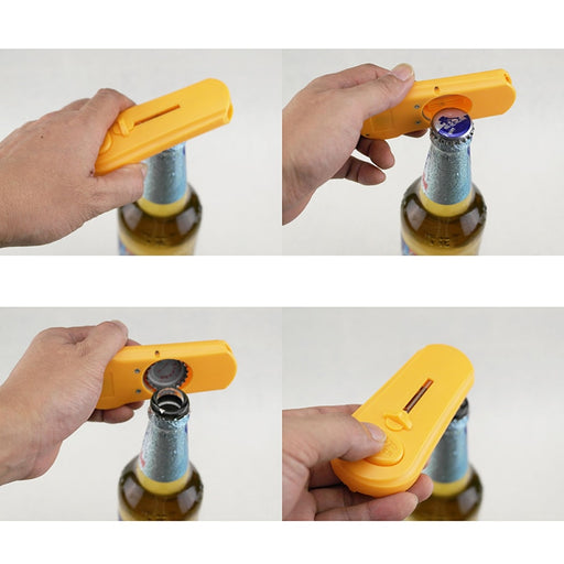 BEER BOTTLE CAP LAUNCHER