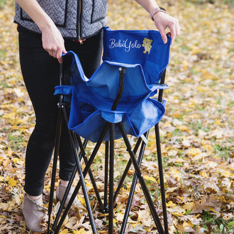 Portable Baby High Chair For Travel Camping Highchair With Eating
