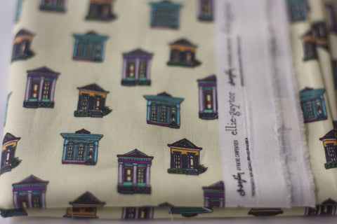 Fabric: Creole Houses | 100% Cotton Woven