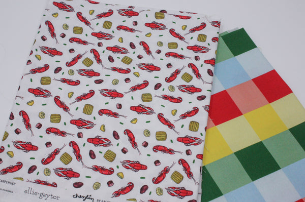 Fabric: Crawfish Boil | 100% Cotton Woven