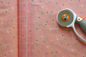 Fabric: Pelicans in Peach