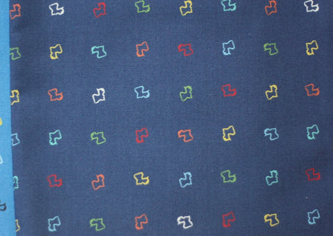 Fabric: La Louisiane in Navy