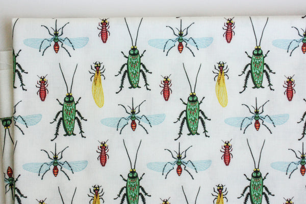 Fabric: Louisiana Bugs | 100% Cotton Woven