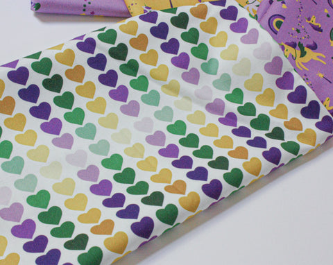 Fabric: Parade of Hearts | 100% Cotton Woven Fabric