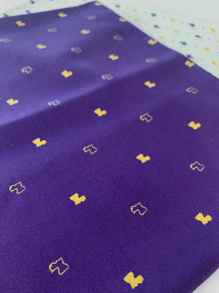 Fabric: Louisiana in Purple