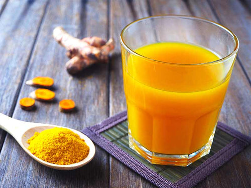 TAO's Cold Pressed Turmeric Ginger Juice 125ml (includes $1 jar deposit)