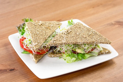 TAO's Sprouted Buckwheat Flat Bread 4 pieces