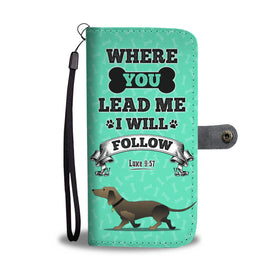 Loyal Dog Lover's Wallet Phone Case