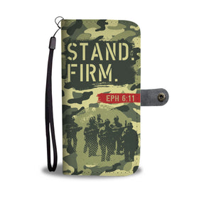 Stand Firm Bold Christian's Wallet Phone Case