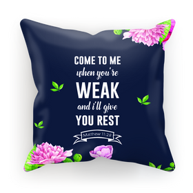 Rest In God Normal Cushion Cover
