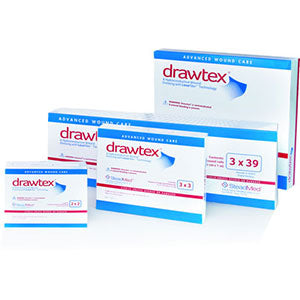 Drawtext Wound Dressing Rolls