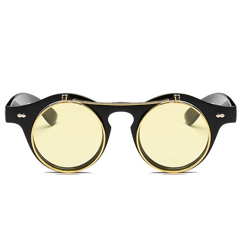 The Gotham with Yellow Lenses