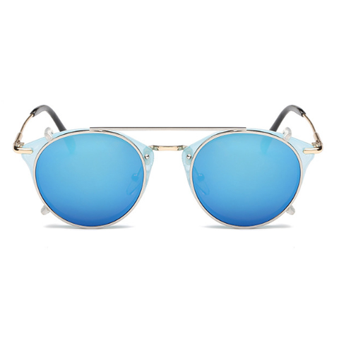 The Gotham Thin in Clear Blue & Blue Lenses
