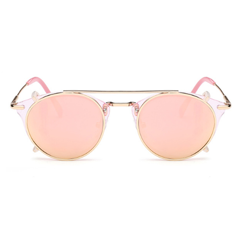 The Gotham Thin in Pink Lenses