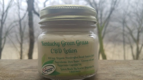 Kentucky Green Grass Whipped Peppermint CBD Body Butter