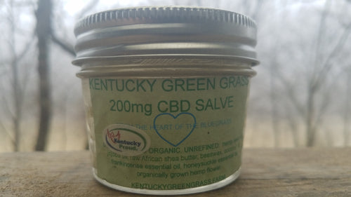 Kentucky Green Grass Beeswax Ultra CBD Salve