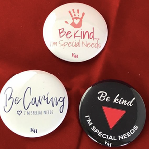 Special Needs Buttons