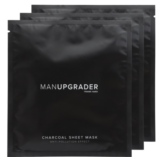 <span>MANUPGRADER</span> <br>CHARCOAL SHEET MASK - SET