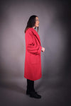 HNA collection Manteau Manteau décontracté rouge - OUTLET