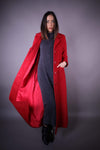 HNA collection Manteau Manteau Long • Rouge - OUTLET
